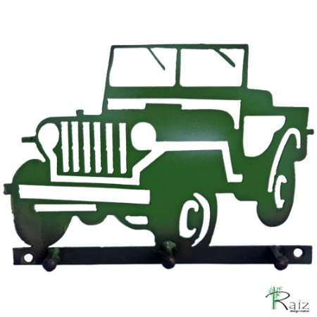 Cabideiro Jeep Três Pinos