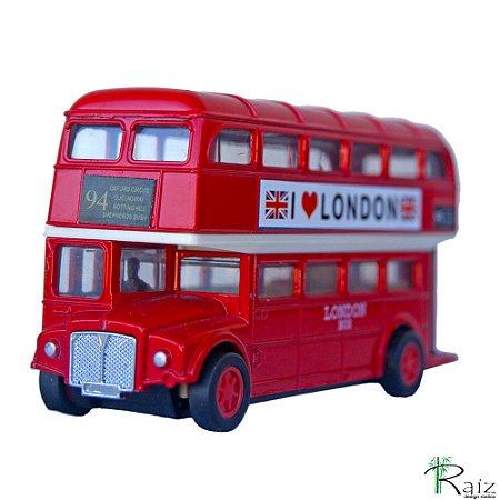 Ônibus Inglês Dois Andares Fricção