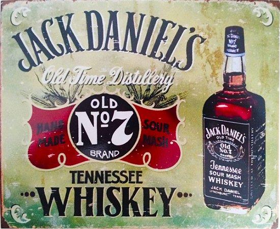 Quadro Whiskey Linha Retrô Vintage 19x23 cm