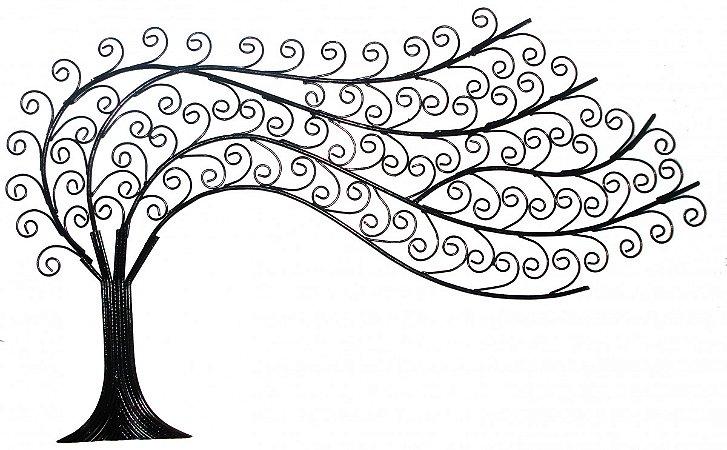 Painel Árvore ao Vento (85cm)