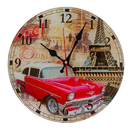 Relógio Paris Retrô