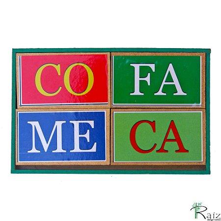 Brinquedo Pedagógico Forma Palavras