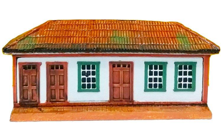 Fachada Ouro Preto Sobrado Casa Mesa ou Parede 16cm