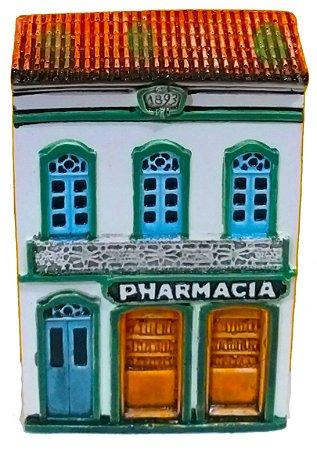 Fachada Réplica Casario Farmacia 10cm