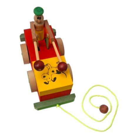 Brinquedo Educativo Boneco Bate Tambor Carrinho Bate Bate