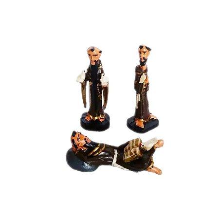 Trio São Francisco De Assis Reciclado Coleção (3 Peças)