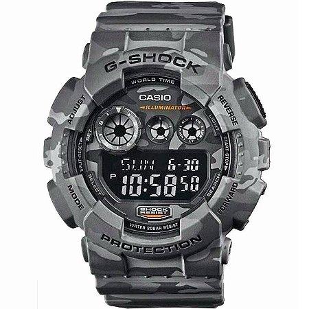 Relógio Casio G-Shock Camuflado GD120CM8DR