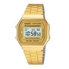 1 relógio Casio A168WG9WDF