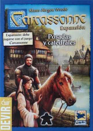 Carcassonne 2ª Edição - Estalagens e Catedrais
