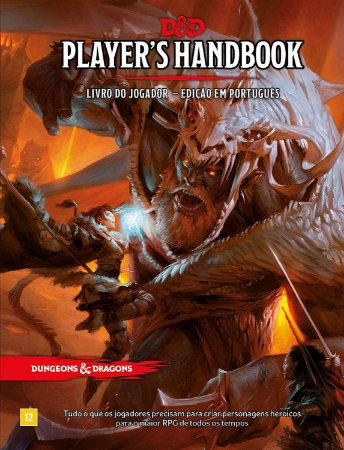 Dungeons & Dragons: Player's Handbook - Livro do Jogador