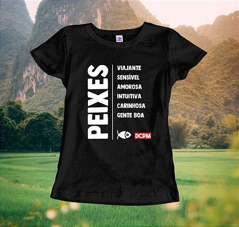 Camiseta Peixes Viajante