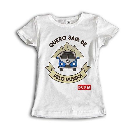 Camiseta Quero uma Kombi