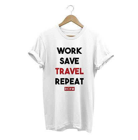 Camiseta Travel Repeat