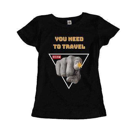 Camiseta You need to travel