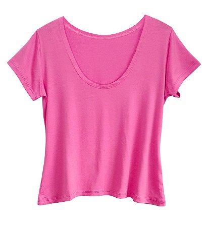 Camiseta Baby Look T-shirt Plus Size Feminina Viscolycra