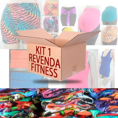 Kit Revenda 1 - Moda Feminina Fitness 12 Peças