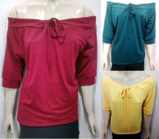Blusa Ciganinha Gipsy Comprida Cores Plus Size
