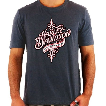 Camiseta Harley Davidson Motor - Vários Modelos