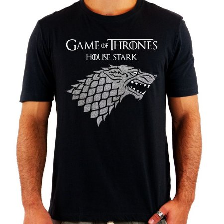 Camiseta Game Of Thrones - House Stark