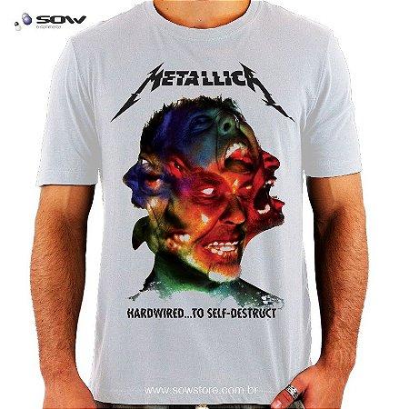 Camiseta Metallica - Hardwired To Self-Destruct - Vários Modelos