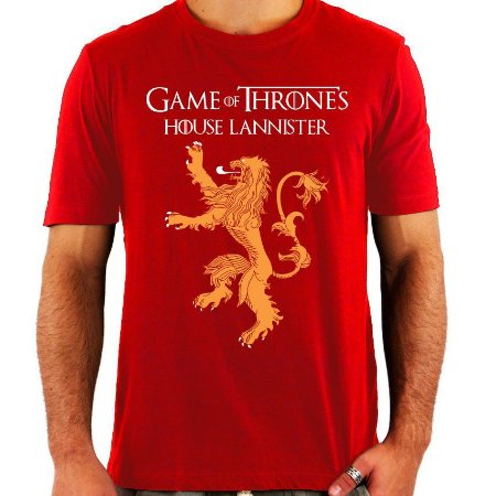 Camiseta Game of Thrones - House Lannister