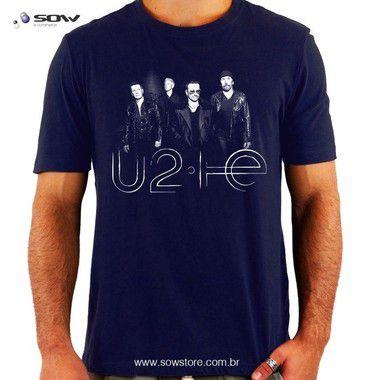 Camiseta U2 He - Vários Modelos e Cores