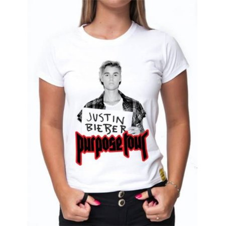 Camiseta Justin Bieber - Purpose Tour