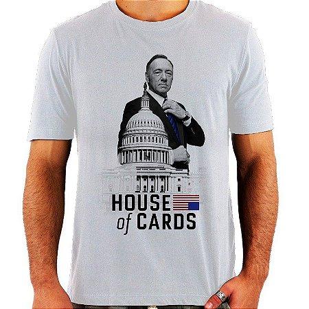 Camiseta House Of Cards - Vários Modelos