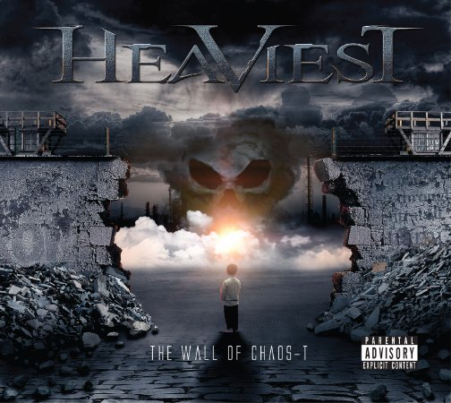 HEAVIEST - THE WALL OF CHAOS-T (DIGIPACK + POSTER + PALHETA)
