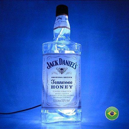 Luminária Jack Daniels Honey em LED - Produto Exclusivo