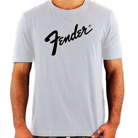 Camiseta Fender - Vários Modelos