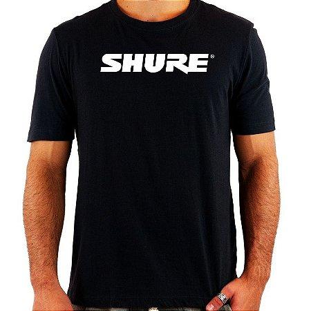 Camiseta Shure - Vários Modelos