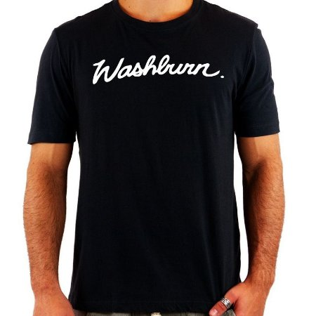 Camiseta Washburn - Vários Modelos