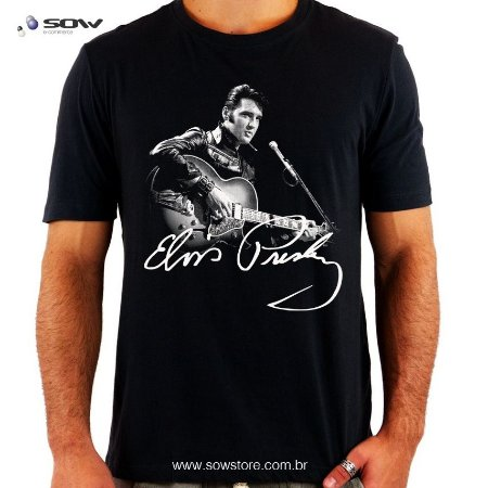 Camiseta Elvis Presley - Produto Exclusivo