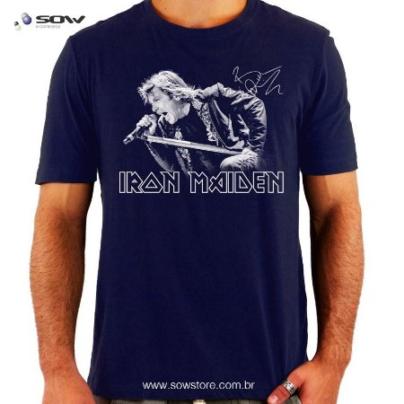 Camiseta Bruce Dickinson - Iron Maiden