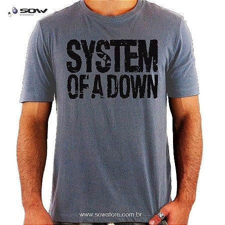 Camiseta System Of A Down - Vários Modelos