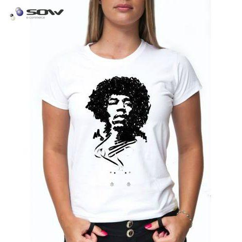 Camiseta Jimi Hendrix - Vários Modelos