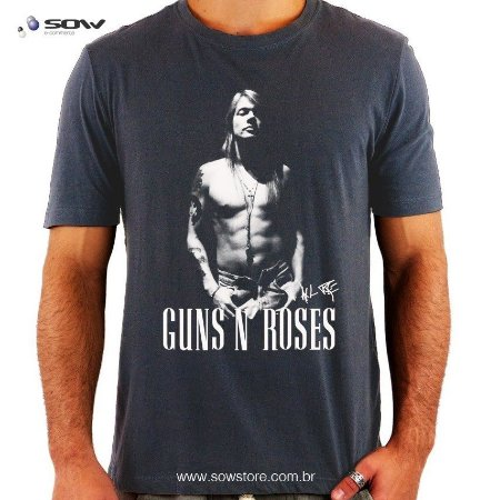 Camiseta Guns N' Roses - Axl Rose
