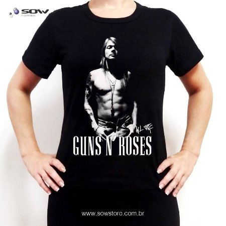 Camiseta Guns N' Roses - Vários Modelos
