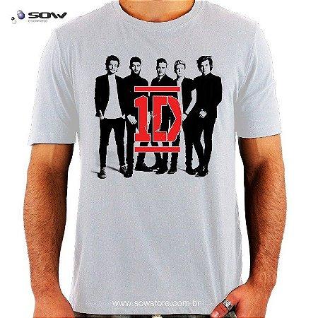 Camiseta One Direction - Vários Modelos