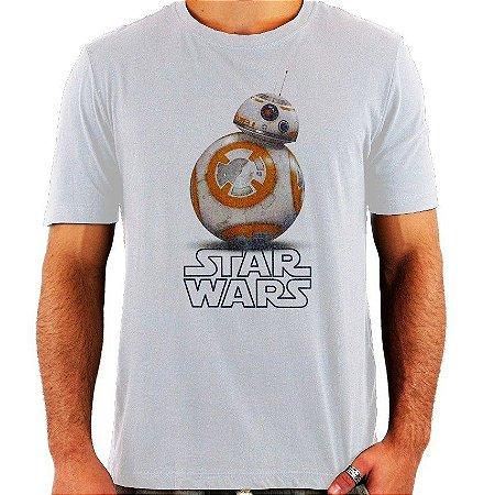 Camiseta BB 8 - Star Wars - Vários Modelos
