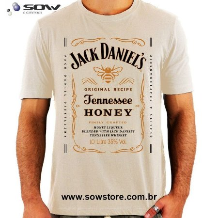 Camiseta Jack Daniels Honey - Vários Modelos