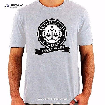Camiseta República de Curitiba - Vários Modelos