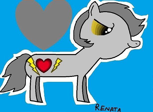 Pony Cinza