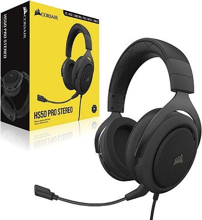 Headset Gamer Corsair HS50 Pro Stereo