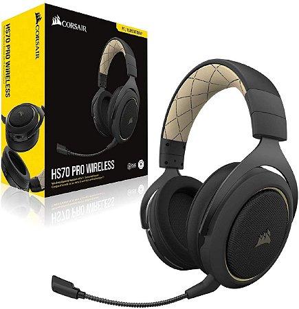 Headset Gamer Corsair HS70 Pro Wireless 7.1