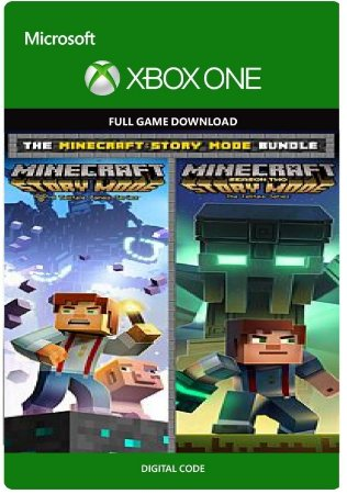 The Minecraft Story Mode Bundle Xbox One