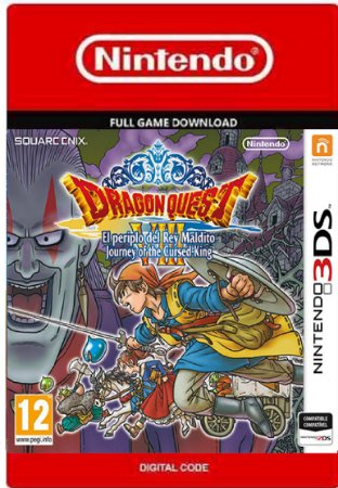 Dragon Quest VIII Journey of the Cursed King Ninitendo 3DS