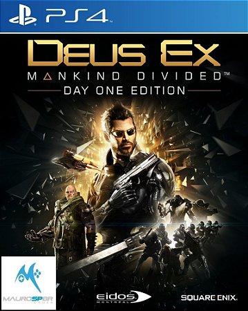 Deus Ex Mankind Divided PS4 MIDIA FISICA