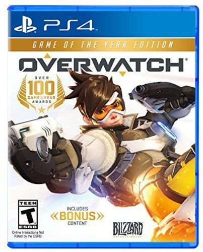 Overwatch Game do ano PS4 Mídia Física